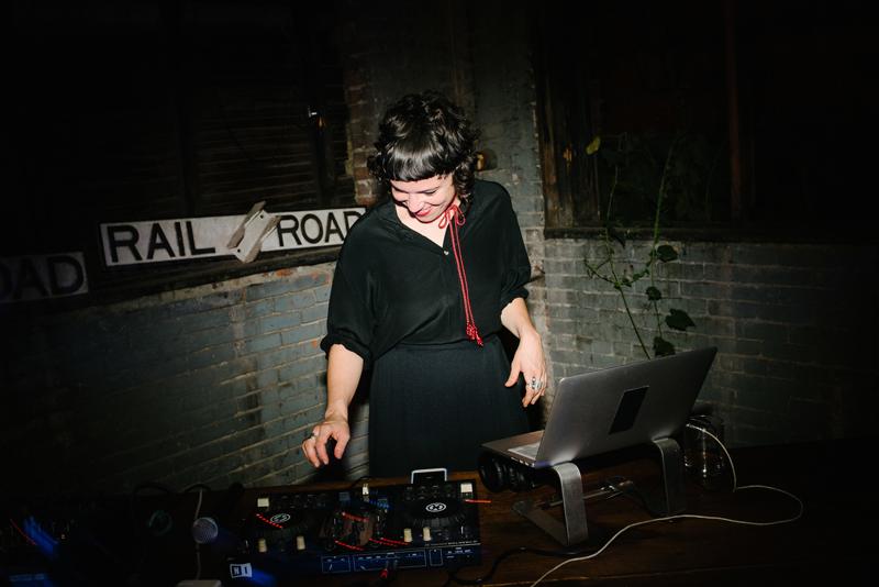 DJ Sarah Van Buren by Lisa Hibbert