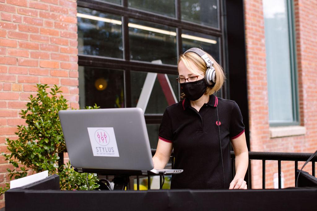 DJ Jane Elizabeth by Kate Neal Photography